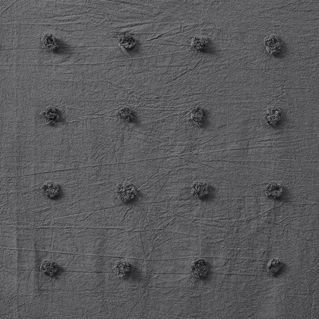 100% Cotton Pom Pom Window Panel - Olliix UH40-2371