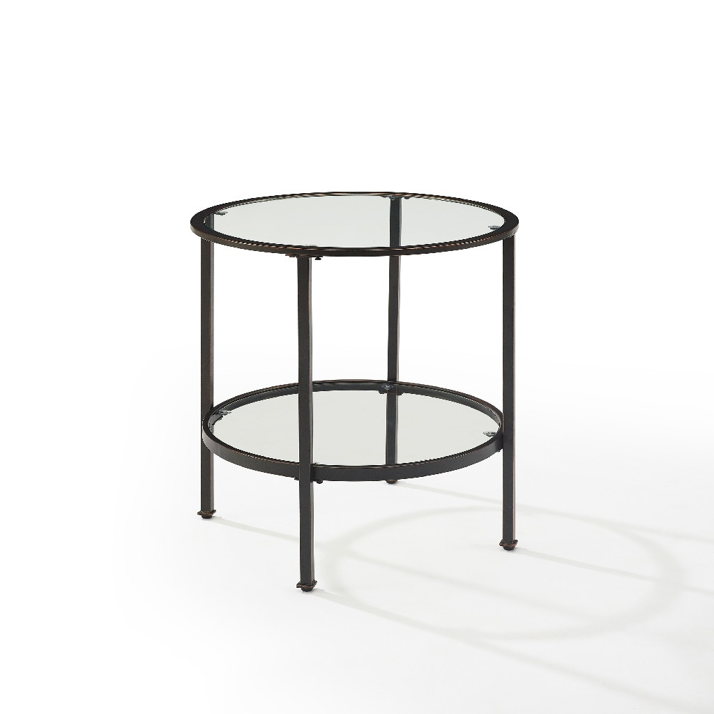 Aimee End Table in Oil Rubbed Bronze - Crosley CF1309-BZ