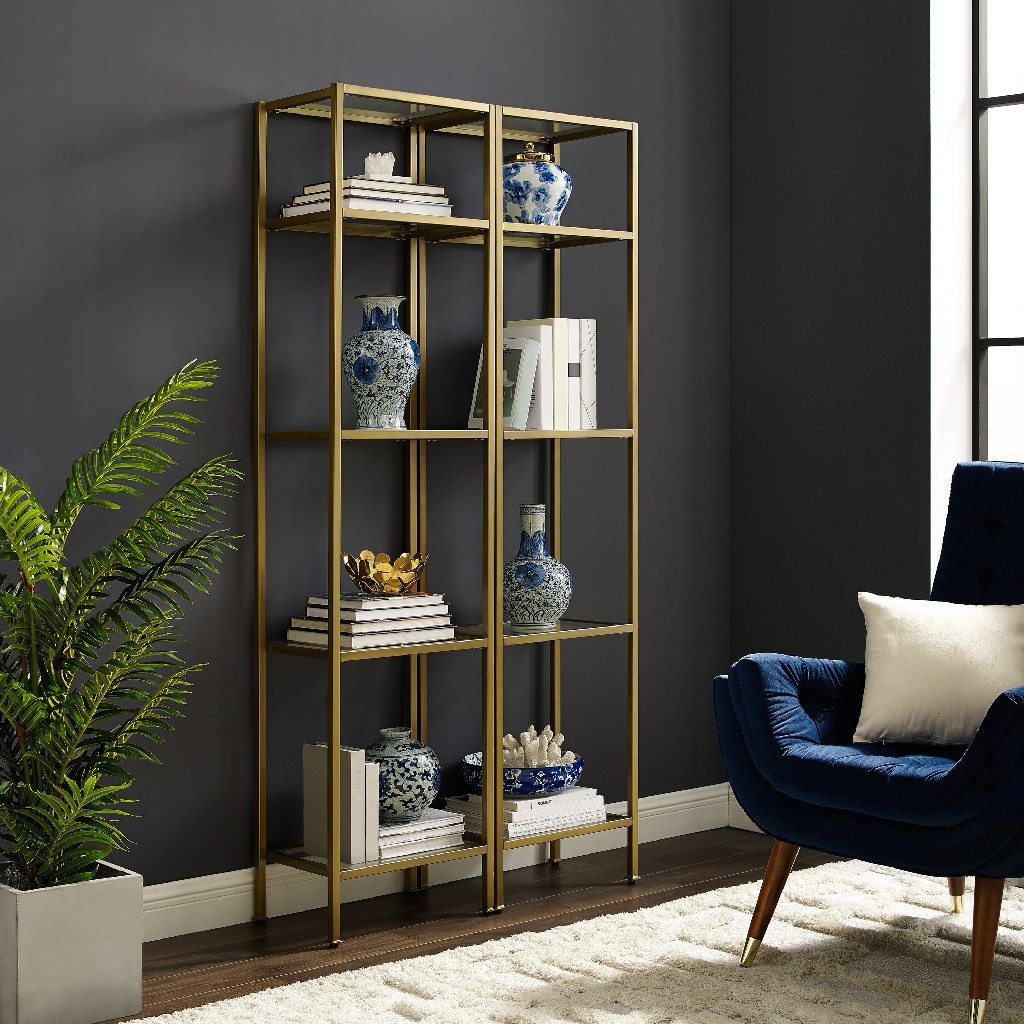 Aimee Narrow Etagere Set - Crosley KF6005GL