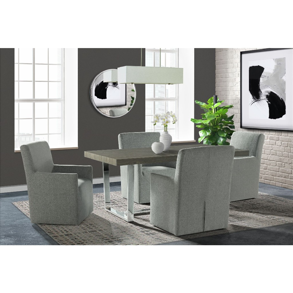 Picket House Furniture Dining Set Table Armchairs Photo