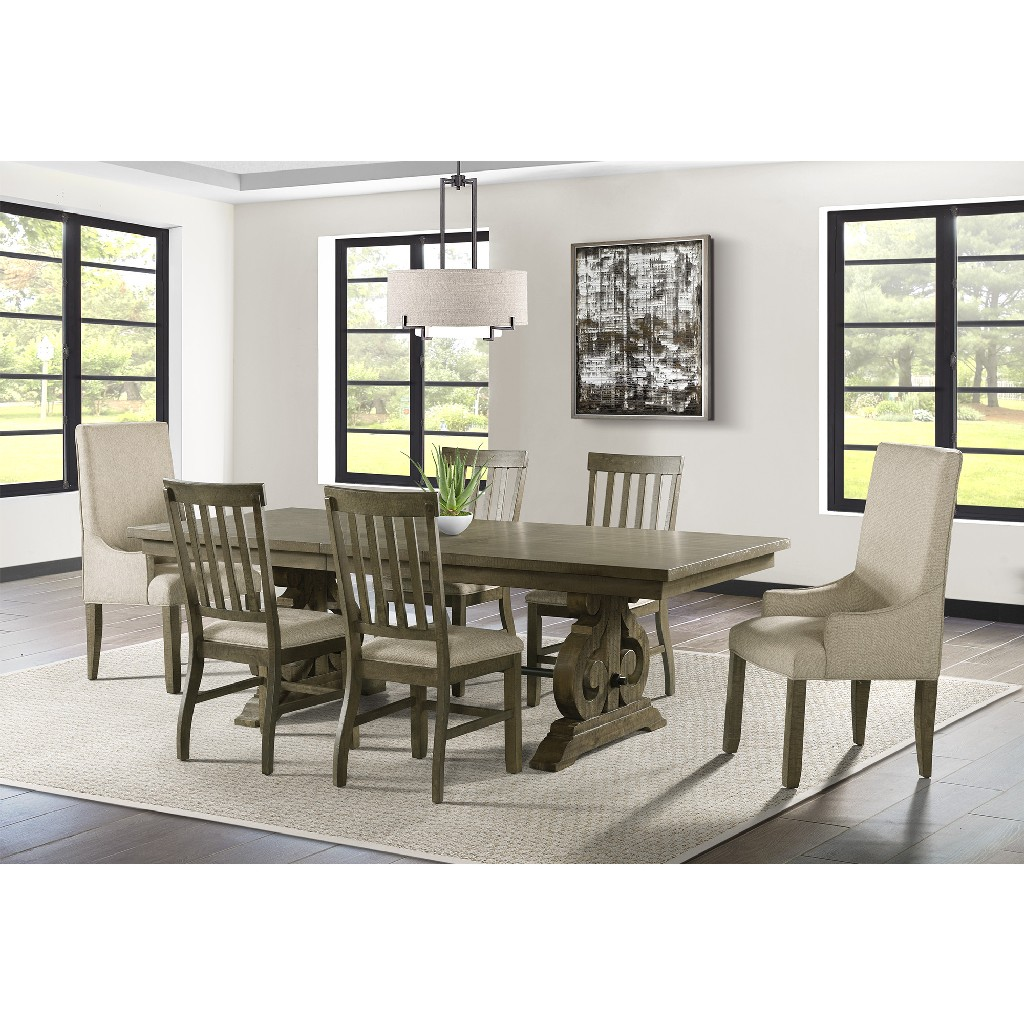 Dining Set Table Side Chairs Parson Chairs