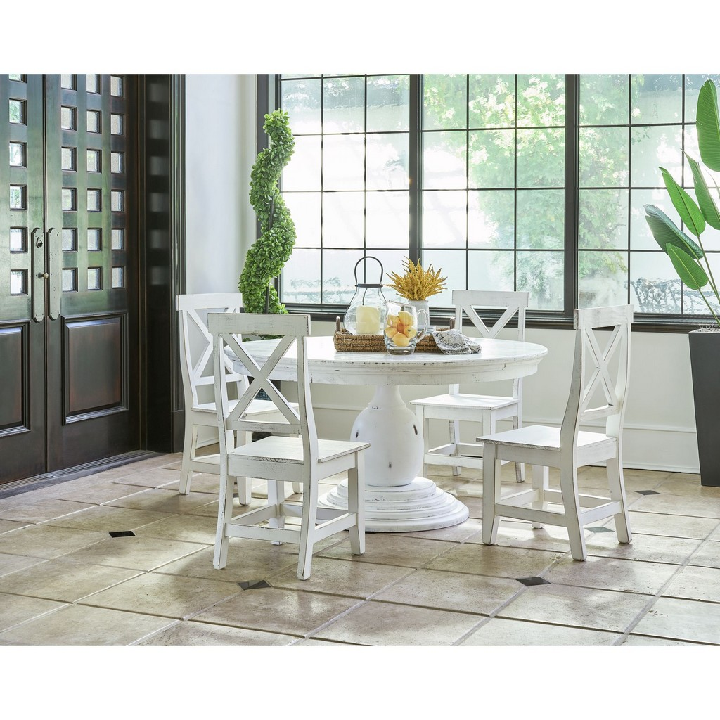 Mary Standard Dining Table White