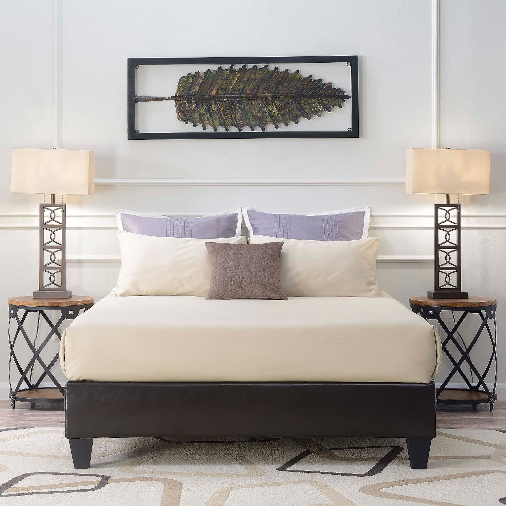 Abby Queen Platform Bed - Picket House Furnishings UBB101QBBO