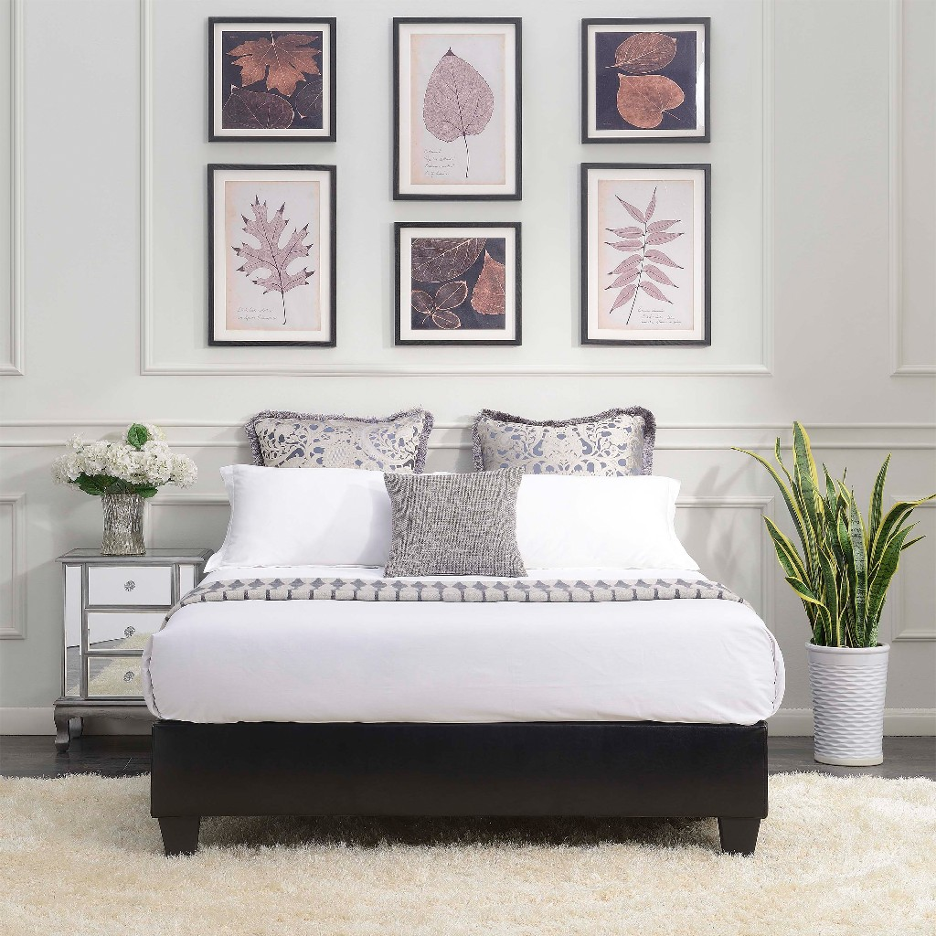 Abby Queen Platform Bed - Picket House Furnishings UBB102QBBO