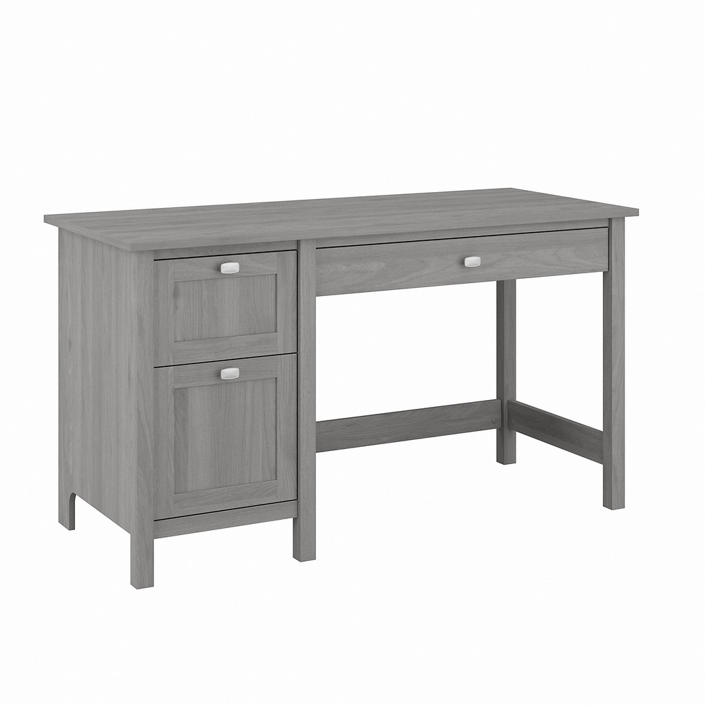 Bush Furniture Broadview 54W Computer Desk with Drawers in Modern Gray - Bush Furniture BDD254MG-03