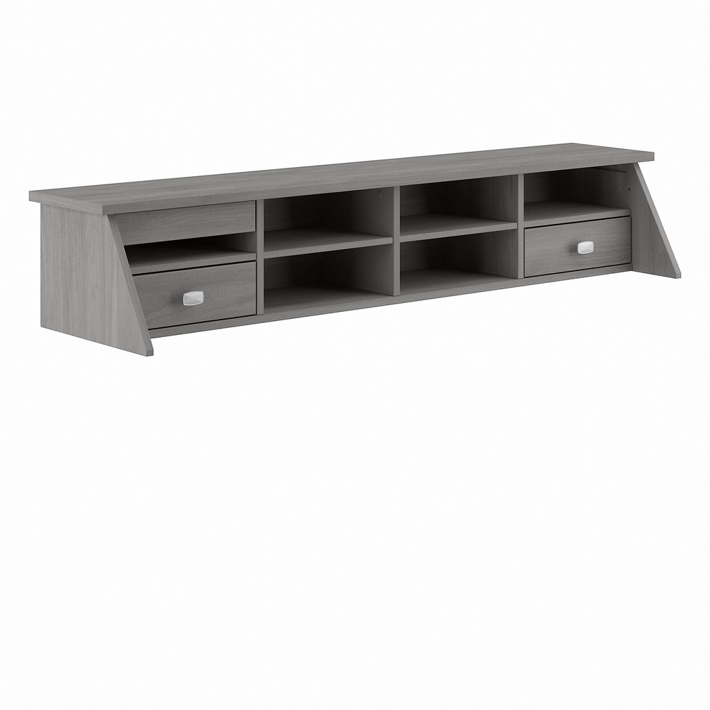 Bush Furniture Broadview Desktop Organizer in Modern Gray - Bush Furniture BDH154MG-03