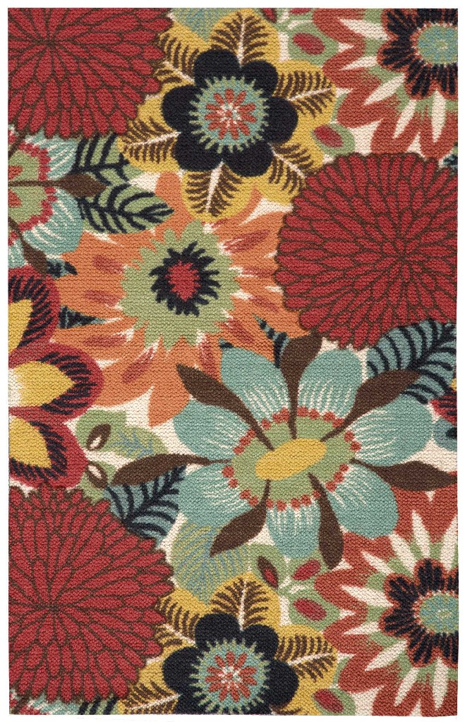 Vista Multicolor Area Rug Nourison VIS53