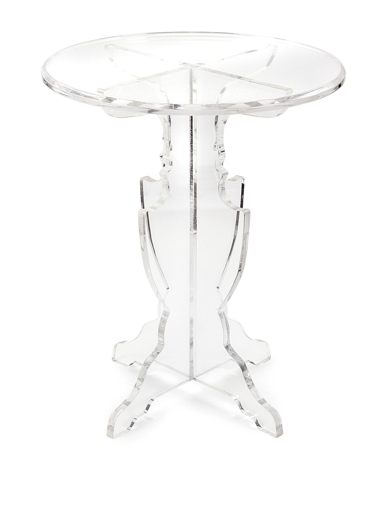 Imax Acrylic Accent Table