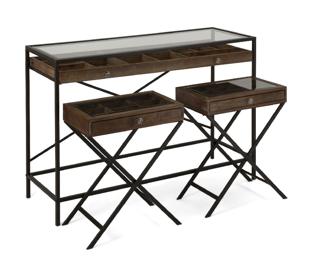 Imax Robinson Console Accent Tables