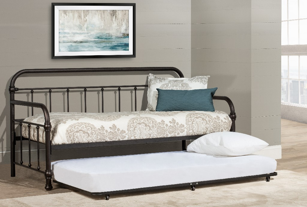 Kirkland Twin Daybed Trundle Bronze