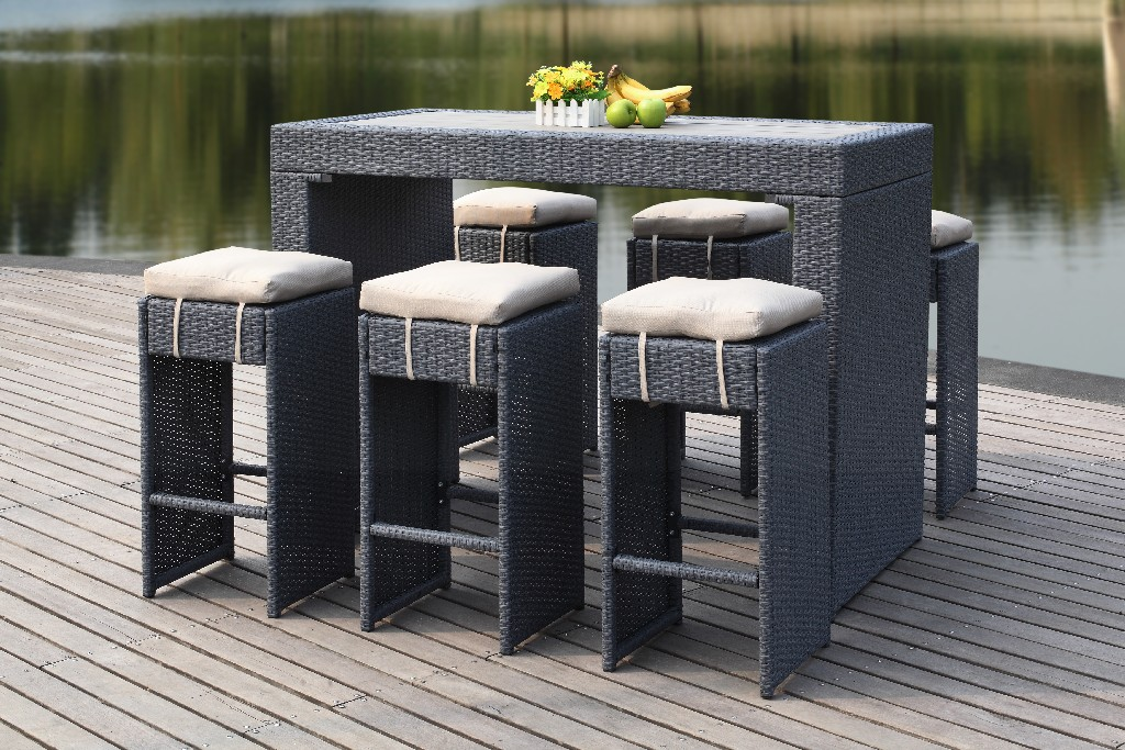 Safavieh Outdoor Bar Set