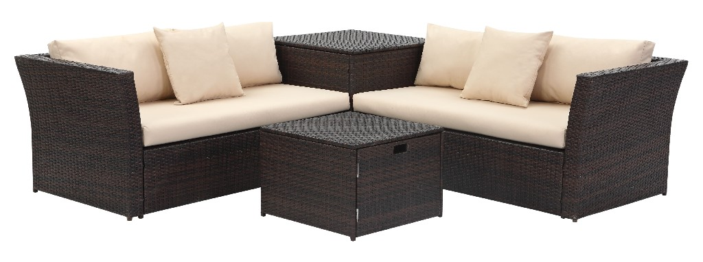 Welch Living Sectional Set Storage