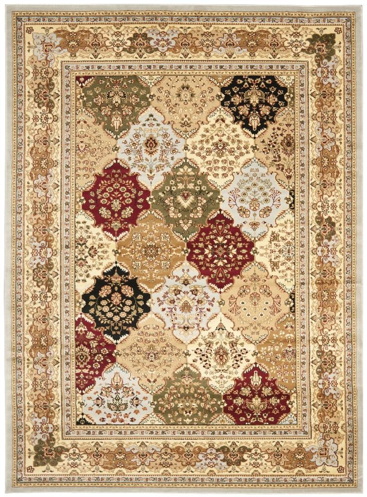 Lyndhurst Collection 9 X 12 Rug In Grey And Multi Safavieh Lnh221g 9