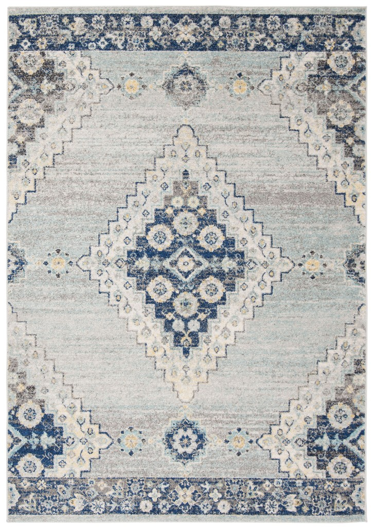 Madison Collection 9 X 12 Rug In Grey And Cream Safavieh Mad615f 9