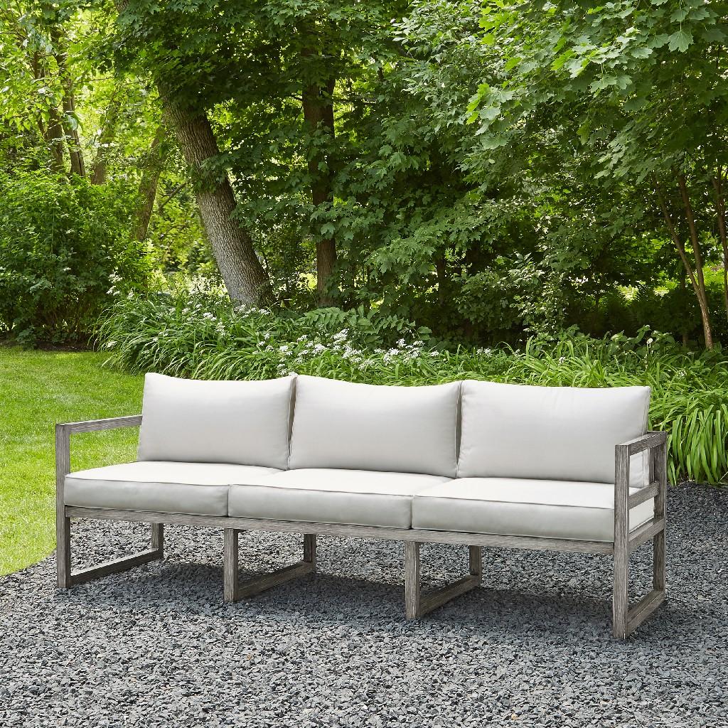 Real Flame Sofa