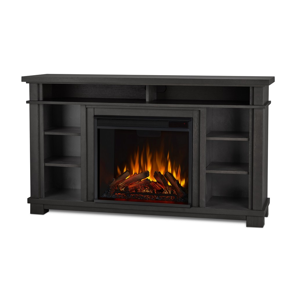 Belford Electric Fireplace in Gray - Real Flame 7330E-GRY