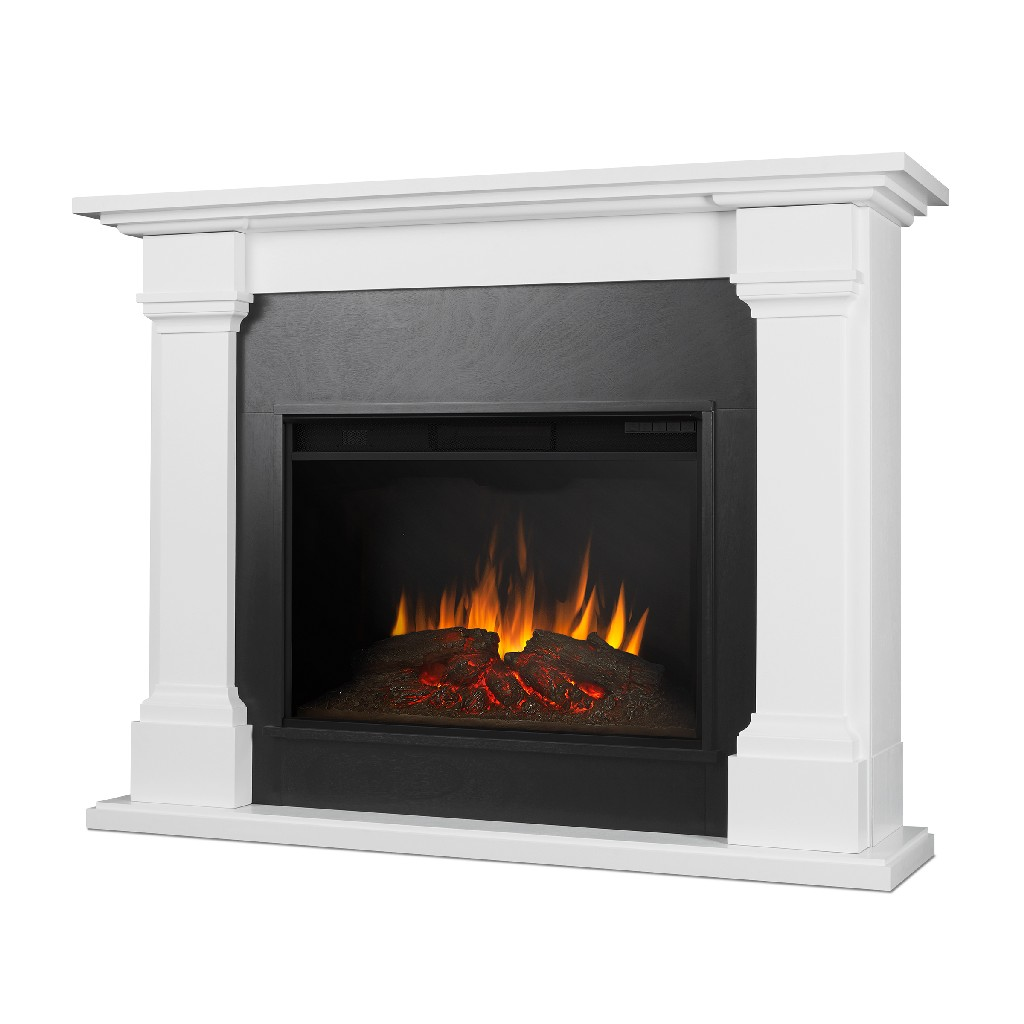 Real Flame Callaway Grand Electric Fireplace White