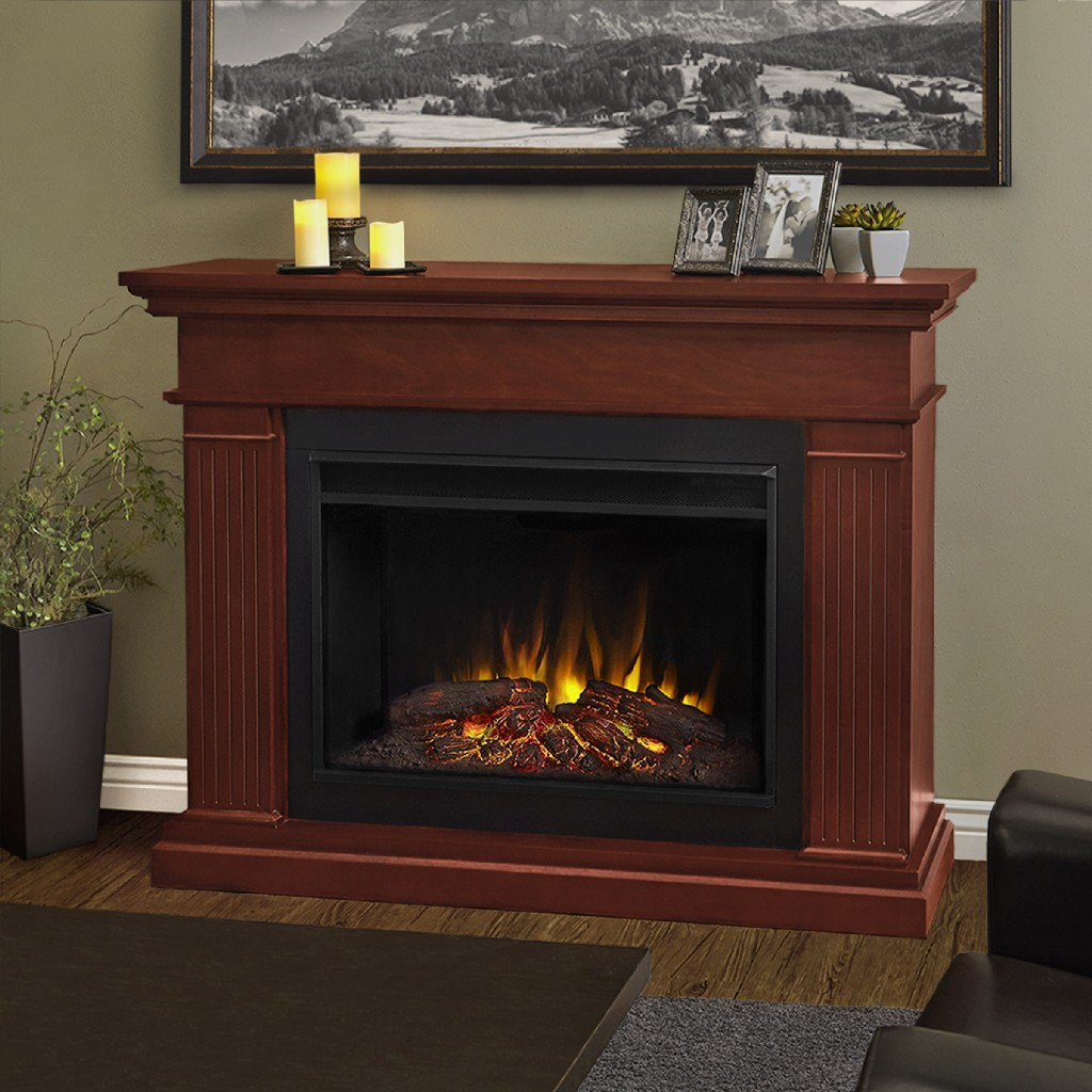 Real Flame Kennedy Grand Electric Fireplace Dark Espresso