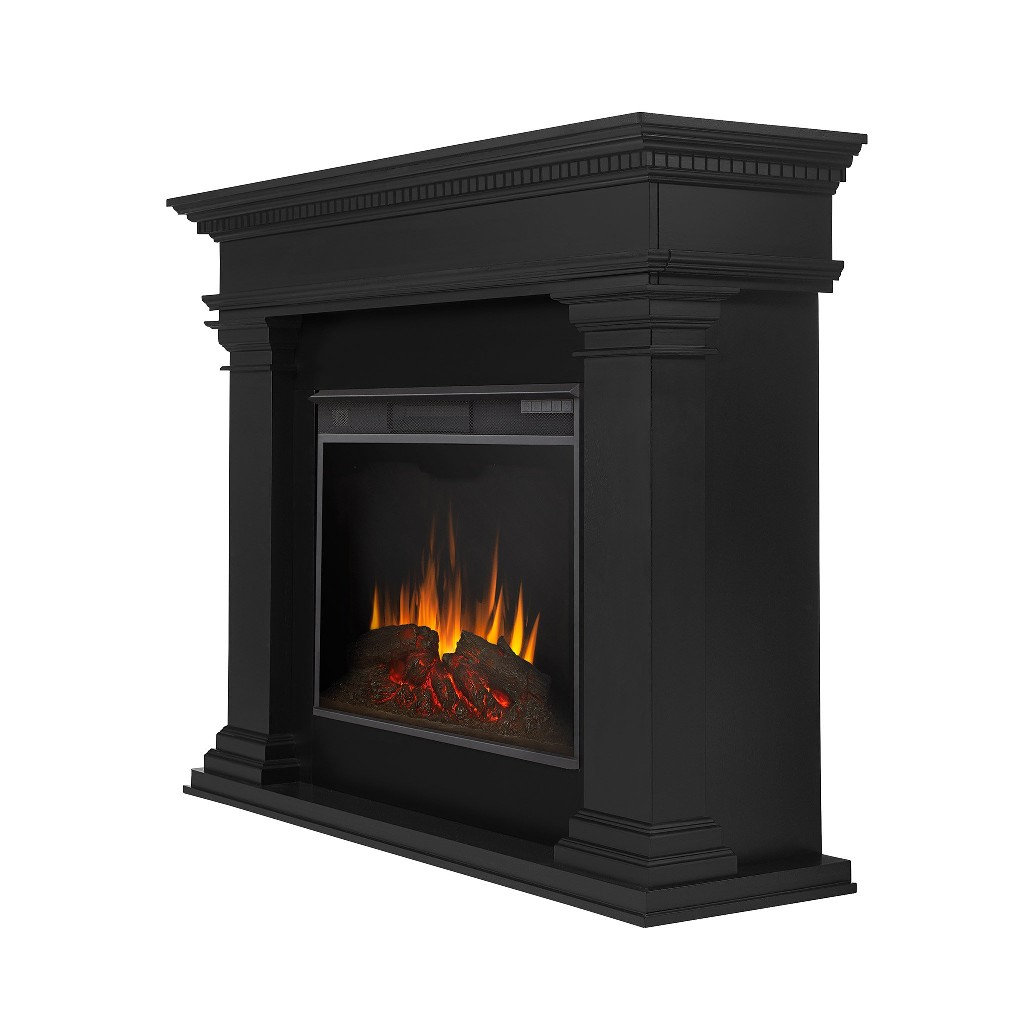 Antero Grand Electric Fireplace by Real Flame - Real Flame 8090E-BLK