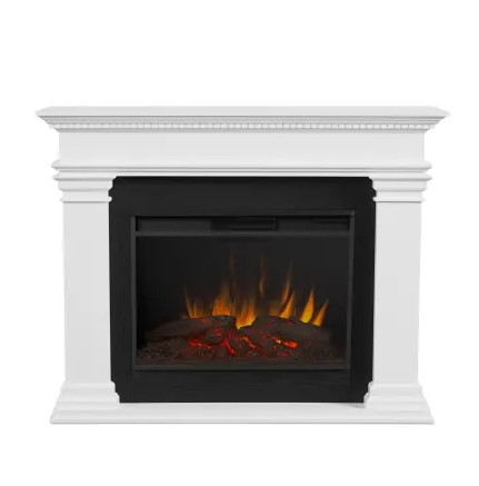 Antero Grand Electric Fireplace by Real Flame - Real Flame 8090E-W