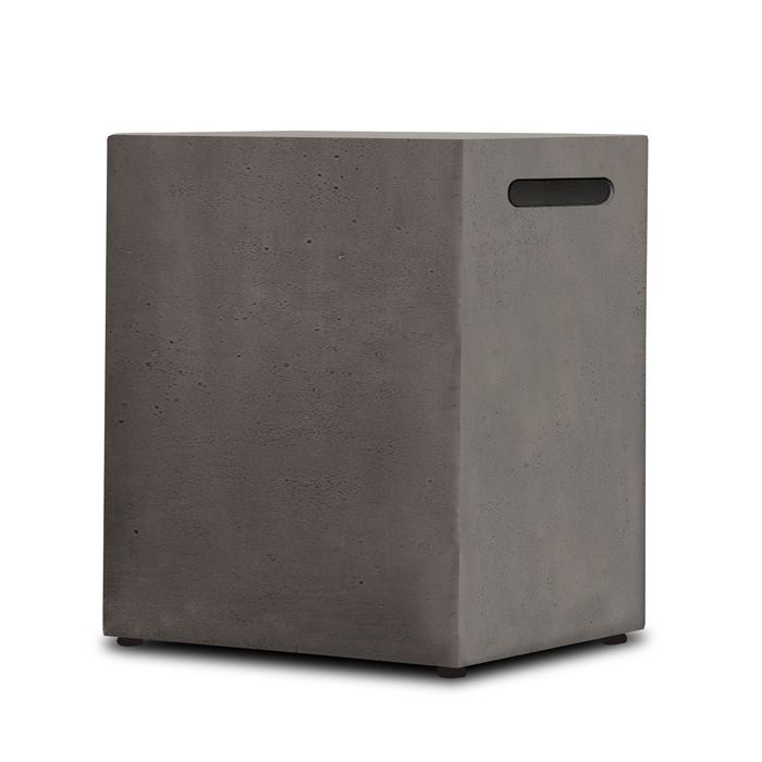 Baltic 20lb LP Tank Holder in Glacier Gray - Real Flame T561-GLG