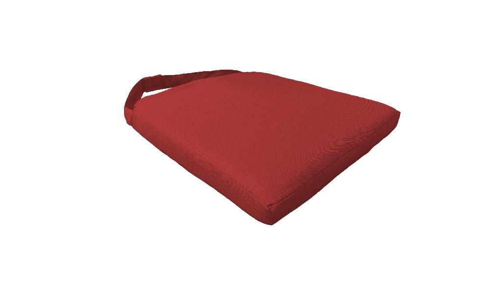 2 Cushions for Dining Chairs in Terracotta - TK Classics 090CUSHION-CHAIR-2PK-TERRACOTTA