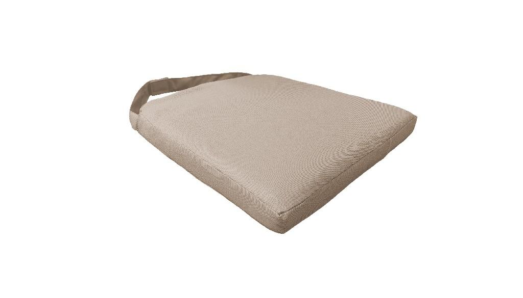 2 Cushions for Dining Chairs in Wheat - TK Classics 090CUSHION-CHAIR-2PK-WHEAT