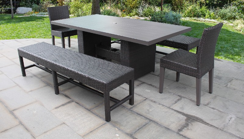 Tk Classics Dining Table Rectangular Patio Chairs Benches