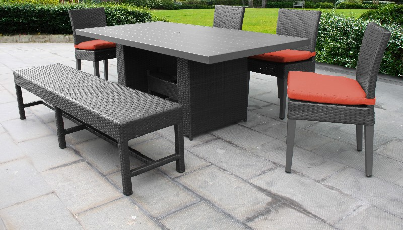 Rectangular | Outdoor | Classic | Bench | Patio | Chair | Table | Dine