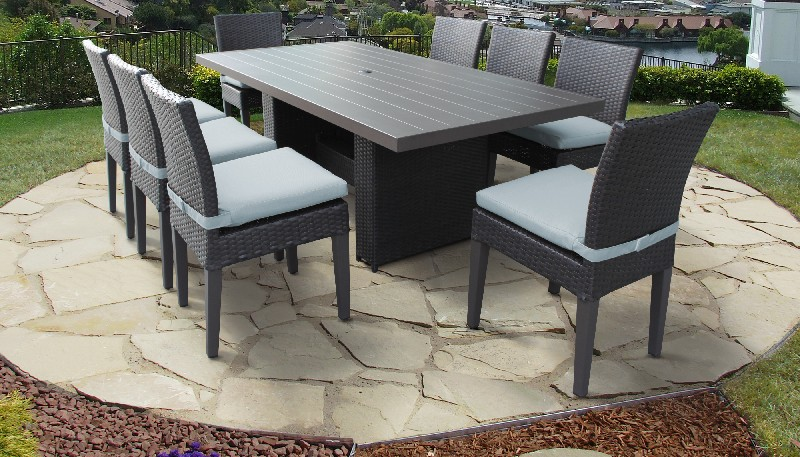 Rectangular | Outdoor | Classic | Patio | Chair | Table | Dine | Spa