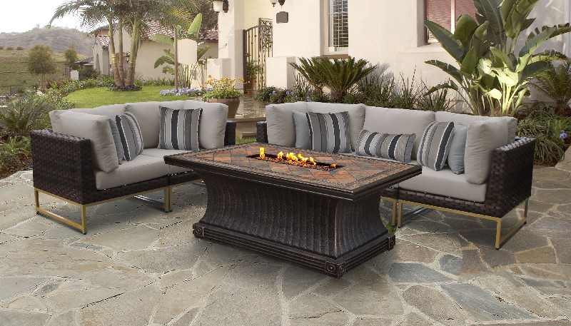 Wicker Patio Set P