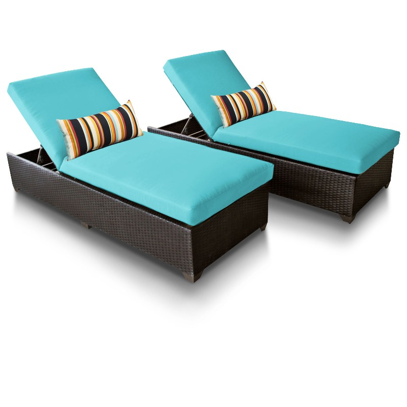 Tk Classics Classic Chaise Outdoor Wicker Patio Aruba