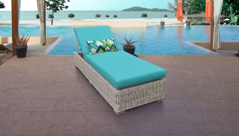 Tk Classics Chaise Outdoor Wicker Patio Aruba