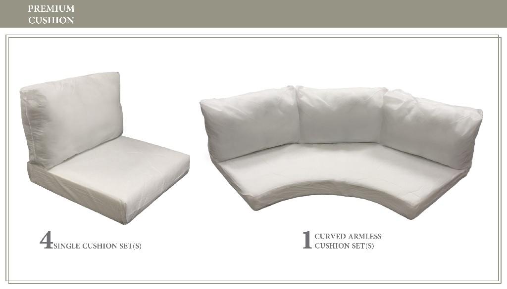 High Back Cushion Set For Fairmont-06j - Tk Classics Cushions-fairmont-06j