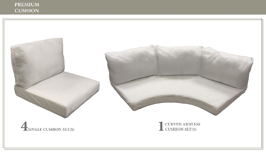 High Back Cushion Set For Fairmont-06k - Tk Classics Cushions-fairmont-06k