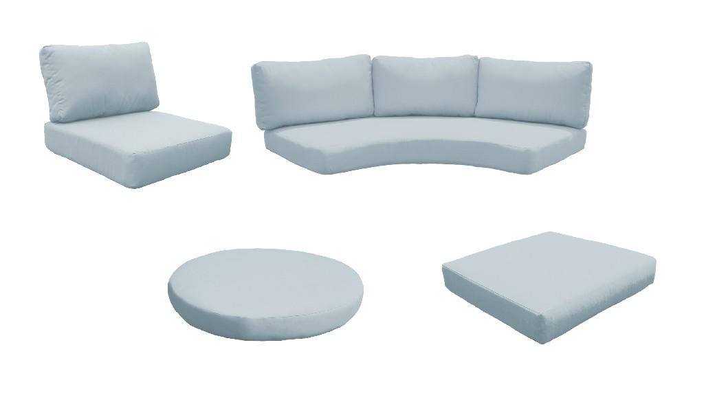 High Back Cushion Set For Fairmont-11c In Spa - Tk Classics Cushions-fairmont-11c-spa