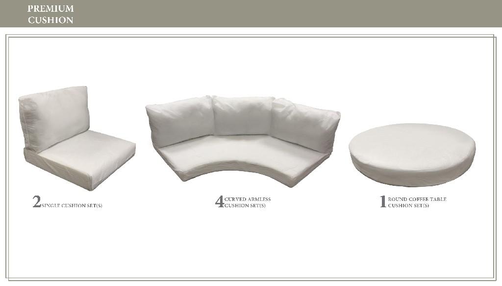 High Back Cushion Set For Florence-11b - Tk Classics Cushions-florence-11b