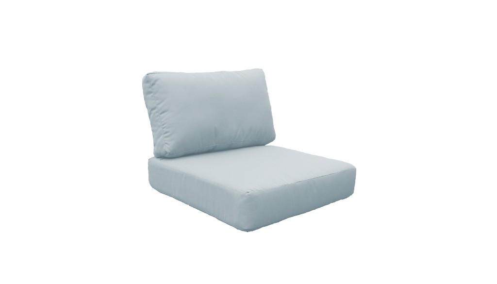 High Back Cushion Set For Miami-06f In Spa - Tk Classics Cushions-miami-06f-spa