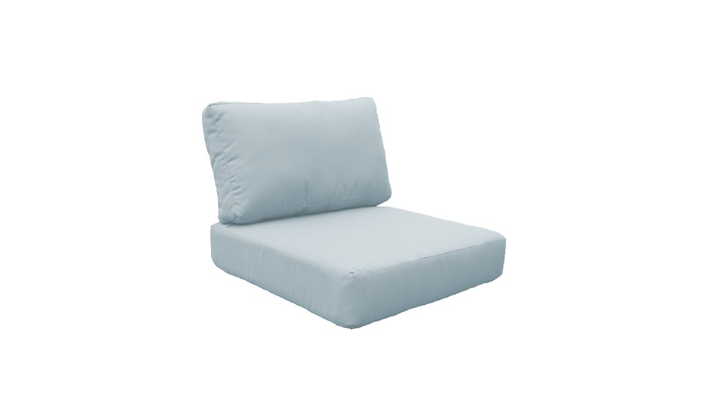 High Back Cushion Set For Miami-07c In Spa - Tk Classics Cushions-miami-07c-spa
