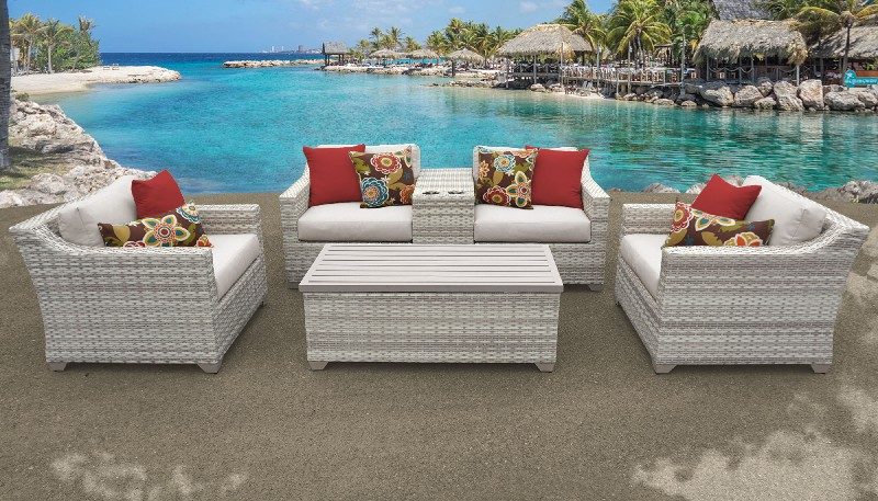 Tk Classics Outdoor Wicker Patio Furniture Set D