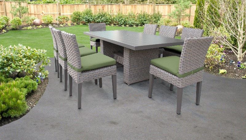 Rectangular   Outdoor   Classic   Patio   Chair   Table   Dine