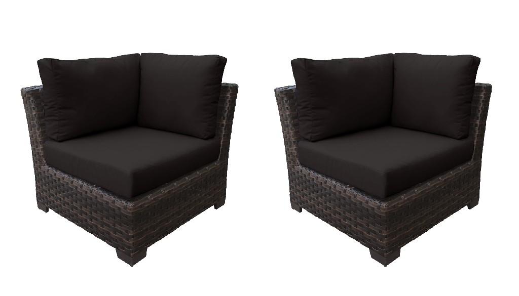 Tk Classics Corner Sofa Onyx