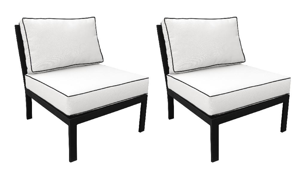 Tk Classics Armless Sofa Snow