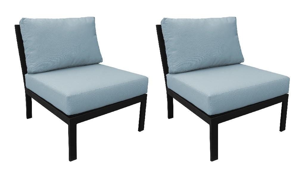 Tk Classics Armless Sofa Tranquil