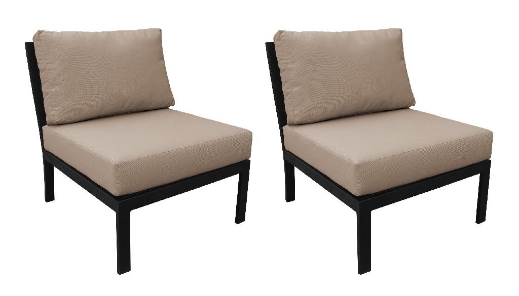 Armless Sofa Toffee