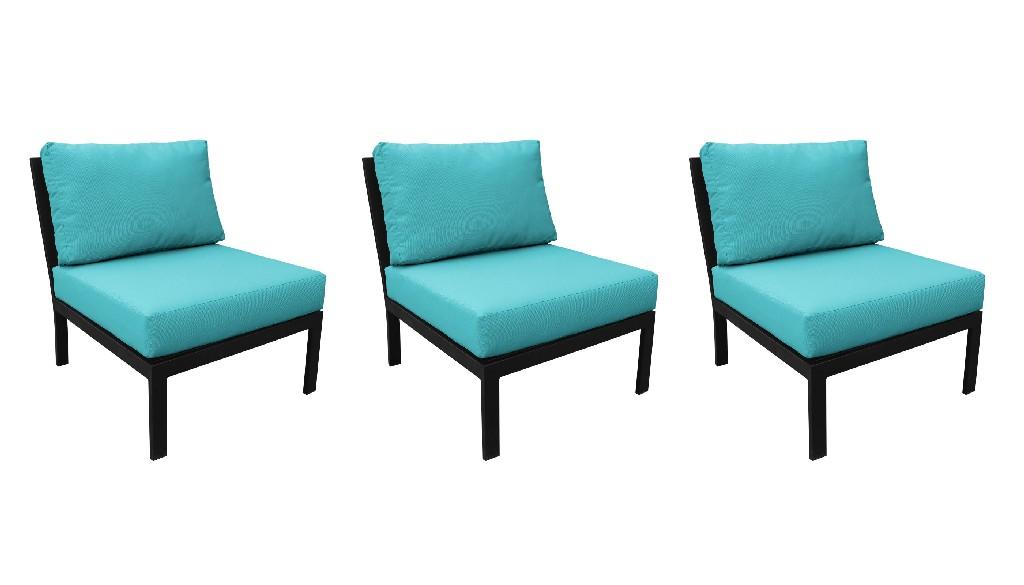 Tk Classics Armless Sofa Per Box Aqua