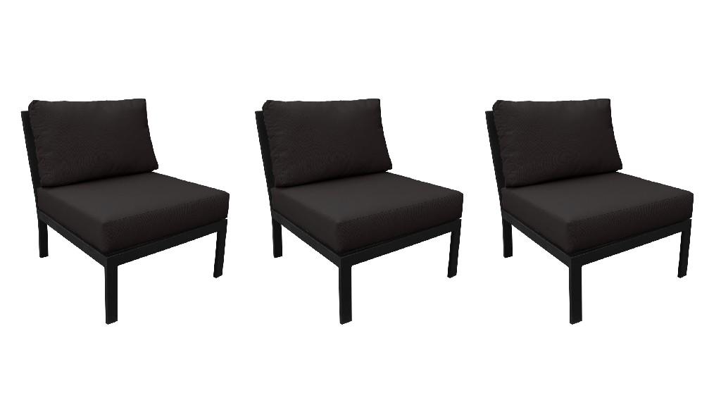Tk Classics Armless Sofa Per Box Onyx