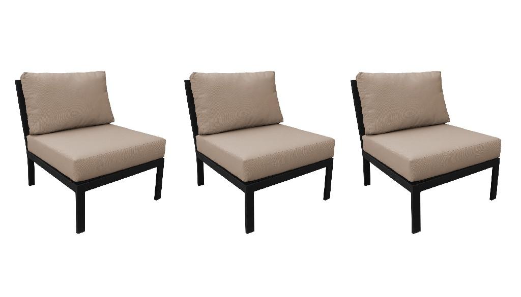 Tk Classics Armless Sofa Per Box Toffee