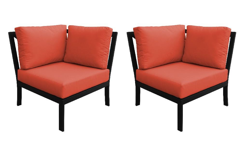 Tk Classics Corner Sofa Persimmon