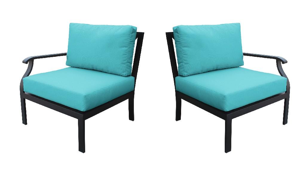 Tk Classics Left Arm Sofa Right Arm Sofa Aqua